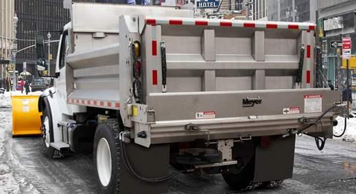 Cap World,  Meyer Dump Truck Under-Tailgate Spreader