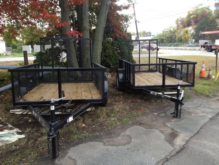 5x8 Carry-on High Side Utility Trailer