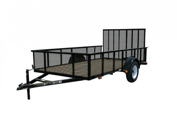 7x12 Carry-On Open High Side Utility Trailer