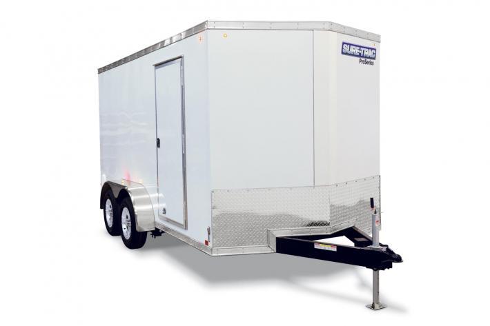 6x12 Sure Trac Wedge Cargo Trailer