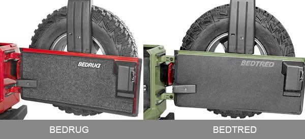 Jeep BedRug and BedTred