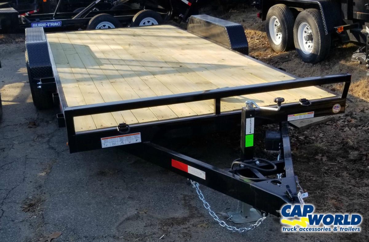 Equipment Trailers Cap World Sure Trac Trailer Wiring Diagram 7x18 C Channel