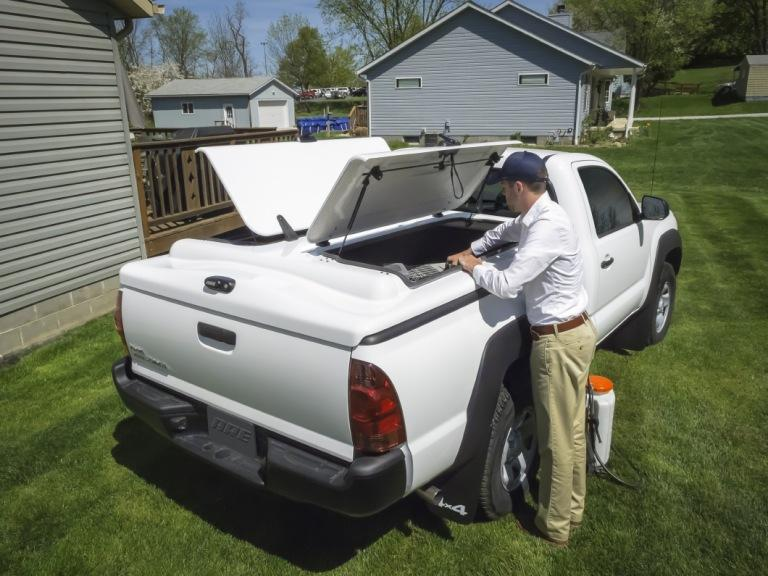 A R E Fiberglass Tonneau Truck Covers Cap World